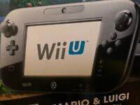 Nintendo Wii U Mario Kart 8 Green Luigi Edition 32GB Black Console NOW ONLY £200