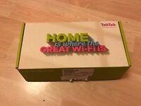 Talktalk hub broadband/router