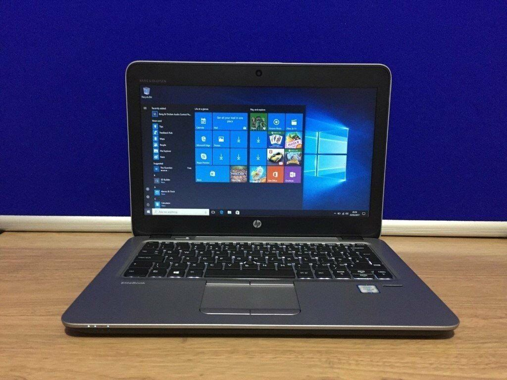 "Laptop HP Elitebook 820 G312.5"" Intel Core i5 6300U 2.5GHz500GB HDD8GB RAMWin 10 Proin Harrow, LondonGumtree - Laptop HP Elitebook 820 G3 12.5"" Intel Core i5 6300U 2.5GHz 500GB HDD 8GB RAM Win 10 Pro Battery lasts up to 7 hours depending on usage Comes with HP Original charger HP Warranty expires 13/11/2019 Light slim Laptop Machine has only been used for 5..."