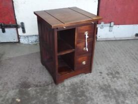 Mahogany Hall Table with Drawers Delivery Available aw033