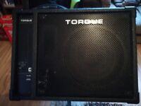 Torque 100 watt Passive stage monitor plus stand