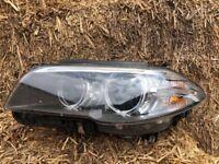 BMW 5 SERIES XENON HEAD LIGHT N/S COMPLETE