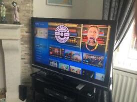 Sony Bravia 46inch tv with remote