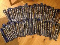 55x drill bits. 240mm long x 22mm diameter