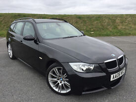 2008 BMW 318 D M SPORT TOURING FULL BMW SERVICE HISTORY AND NEW MOT! LOTS OF EXTRAS!