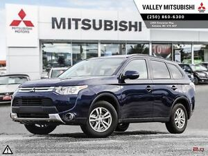2015 Mitsubishi Outlander SE - Heated Seats, V6 Engine, Third Ro