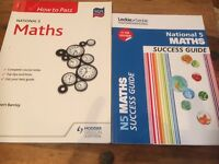 National 5 Maths study books