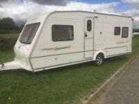 bailey senator fixed bed caravan