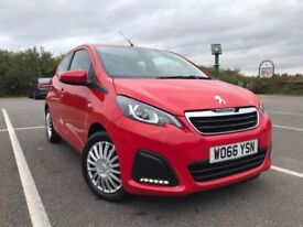 2017 Peugeot 108 1.0 Active 2-Tronic 5dr Auto, Like New Car Only 715 Miles
