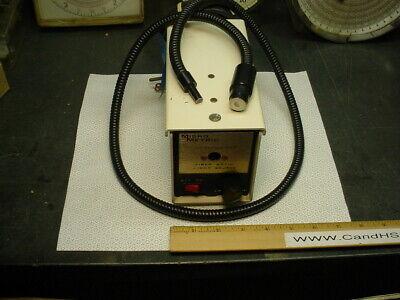 Micro Metric Fiber Optic Light Source With Fostec Bundle