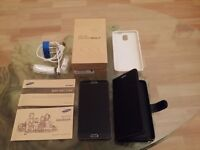 SAMSUNG GALAXY NOTE 3, 32GB BLACK, FACTORY UNLOCKED,IMMACULATE CONDITION,BOXED AS NEW
