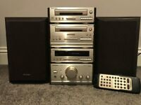 Technics SC-HD50 separates Hi-Fi system with speakers and remote control