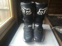 Fox comp 8 mx boots