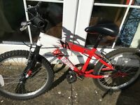 Boys Raleigh Extreme Volt Bike - suitable for 6-9 years