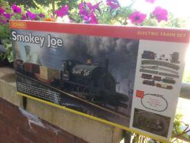Hornby smokey joe railway set.
