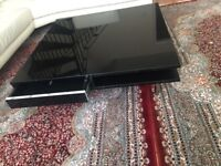 High Gloss Black Ikea Tofteryd Coffee Table