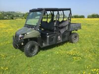 Polaris Ranger Crew.... rare opportunity to purchase... 1 owner.. awaiting clean.. price plus vat