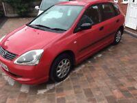 Honda Civic 1.4L 2005 120k Mileage, Bargain!!