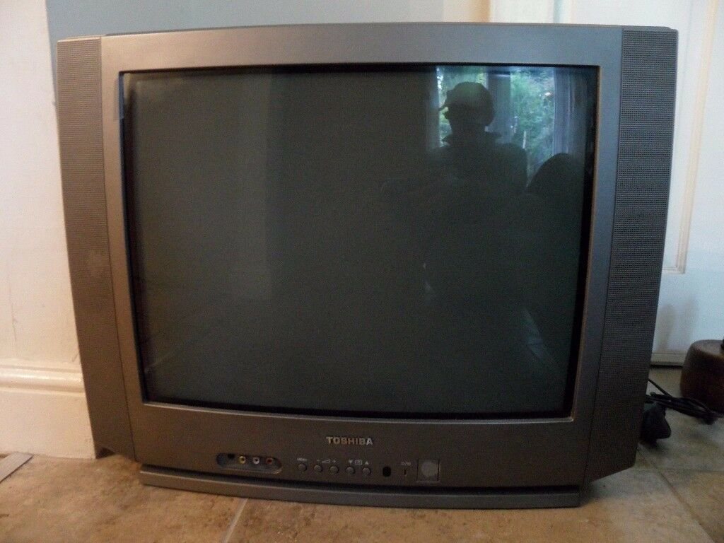 "TOSHIBA 21SO4B6 21"" COLOUR TV - AS SEEN."