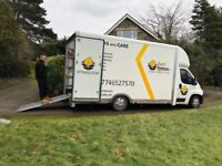 House removals and Clearance services in Doncaster and surrounding areas. Man and van, LutonVan