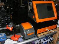 "STYLISH 15"" Posligne w/ Matching Printer, Scanner, Cash Drawer EPOS Till System Cash Register"