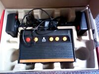 Atari games console unwanted present never been used