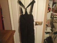 Child's black Dare 2b ski pants age 9/10