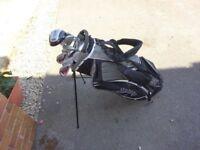 golf clubs and golf bag bargin £45