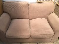 Two seater sofa- free to collector