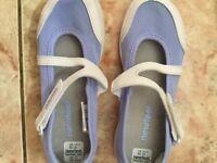 brand new children kids girl's ballerina shoes / pumps size 12 UK