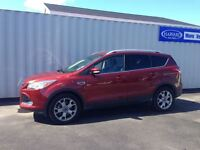 2014 Ford Escape Titanium, Ruby Red EcoBoost, Warranty
