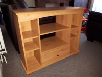 TV stand unit Oak Effect