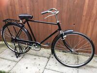Mans retro style bike