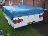 folding camper trailer tent campervan camping