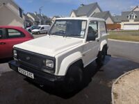 REDUCED! Daihatsu Fourtrak TDS Independent Commercial spec 4x4, REG INCLUDED!!!