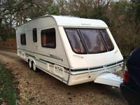 Swift 22ft twin axle caravan