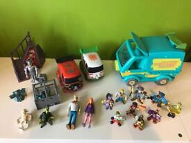 Scooby doo toy bundle