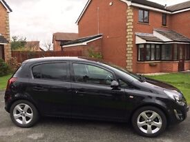 Vauxhall Corsa 1.4 i 16v SXi 5dr*Excellent Condition* Metallic Black*Serviced Jan '17*Priced to Sell