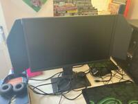1ms gaming monitor with Dynamic accuracy