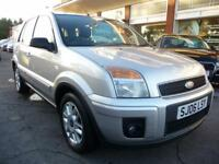 FORD FUSION 1.6 STYLE CLIMATE 16V 5d AUTO 100 BHP (silver) 2006