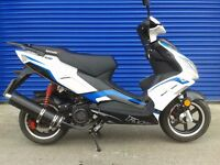 2016 LEXMOTO FMR 125cc SPORTS SCOOTER VERY GOOD CONDITION