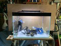 Complete nano aquarium