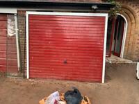 Garage door in good condition