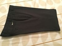 "Men's Nike Golf Trousers. Black. Size 34"" waist. As new."