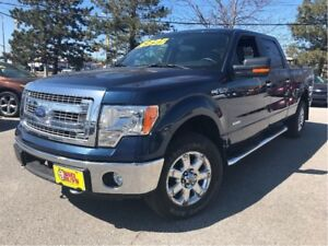 2014 Ford F-150 XLT 4x4 BACKUP CAMERA CHROME CREW CAB