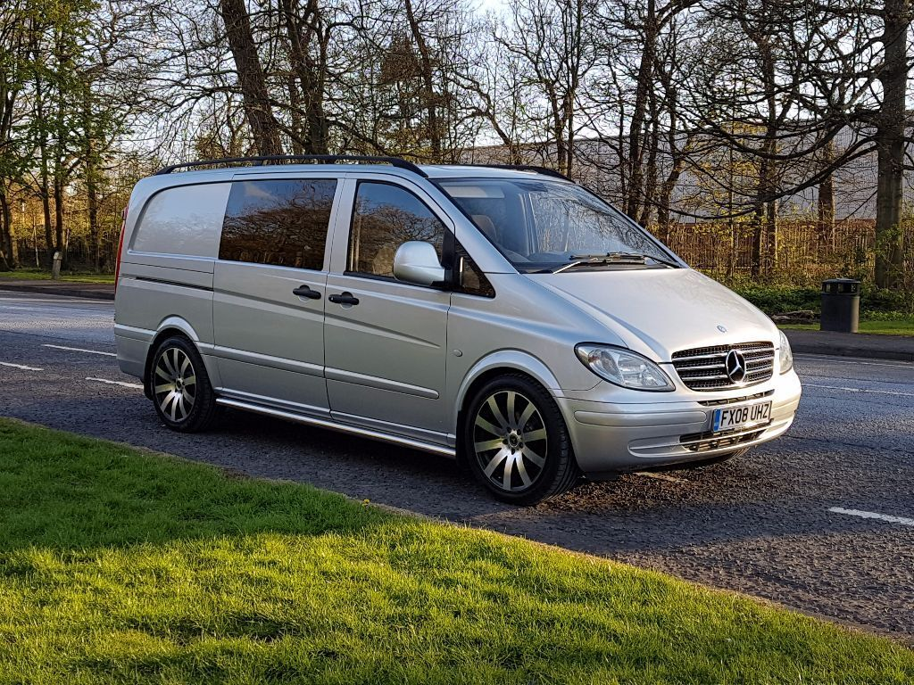 mercedes vito combi day van 2 2 cdi auto in gateshead tyne and wear gumtree. Black Bedroom Furniture Sets. Home Design Ideas