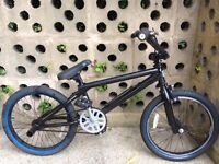 "KIDS CHILD BOYS BMX MONGOOSE BLACK 20"" WHEEL WITH MONGOOSE STUNT PEG BIKE BICYCE"