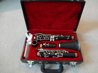 Clarinet - Mint condition with case, books & accessories