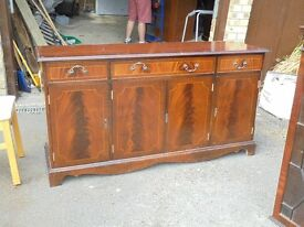 Double height Mahogany Cabinet