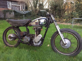 1954 Matchless / AJS 16M 350cc Engine Frame Gearbox Wheels Forks Tank